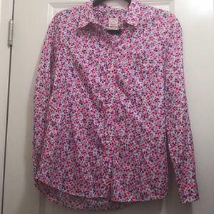 Gap Women's Fitted Boyfriend Blouse